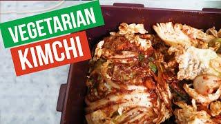 Vegetarian Kimchi AT HOME!