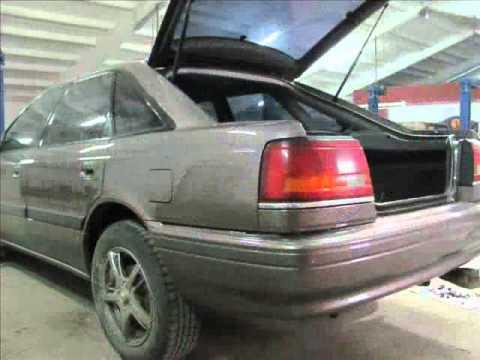 Ремонт Mazda 626 1989 года выпуска (СТО г. Кременчуг)