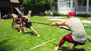 TUG OF WAR CHALLENGE VS FAZE CLAN...JARVIS, KAY, TEEQO
