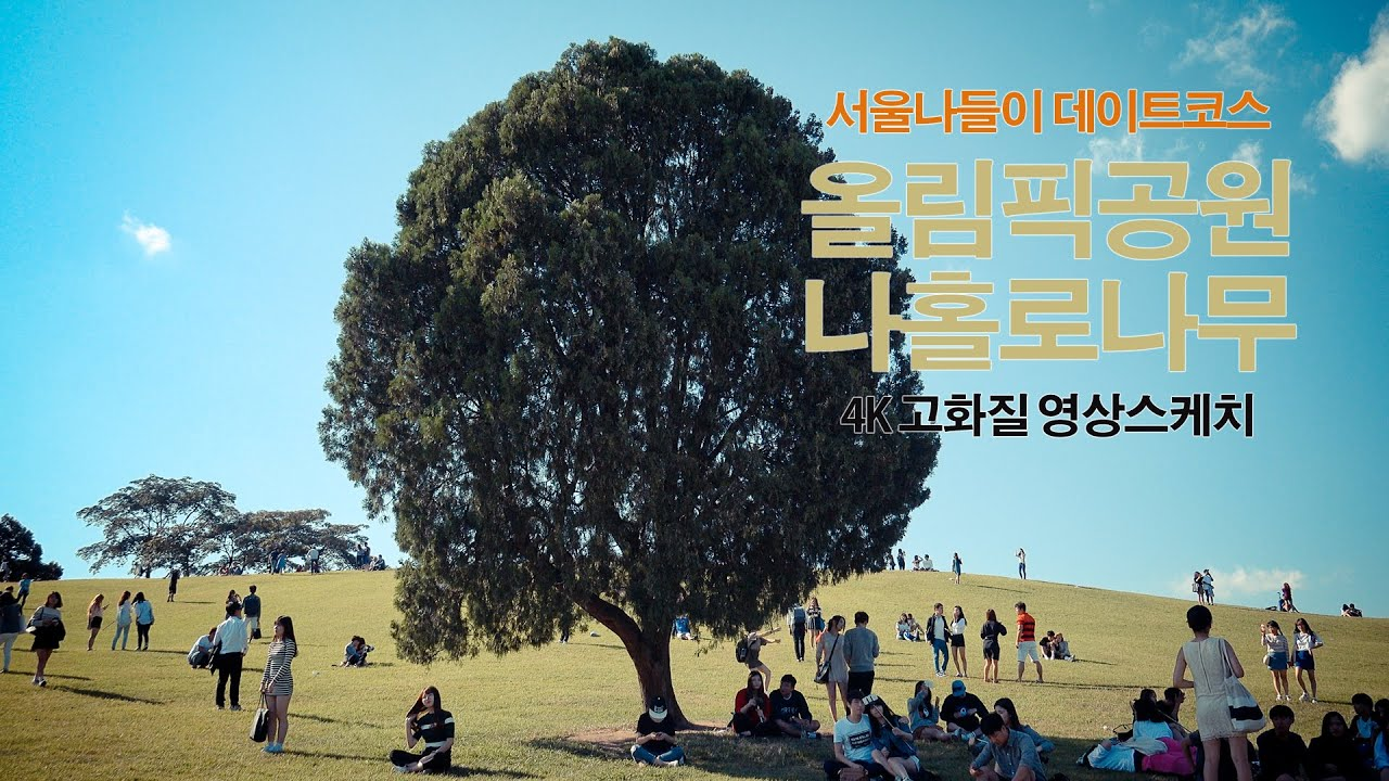 SONY 4K Handycam Sample Movie Korean Travel Olympic Park Seoul