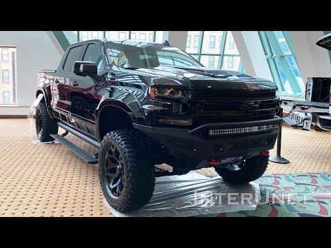 2020 Chevrolet Silverado Black OPS Custom Off-Road Performance Truck By Tuscany
