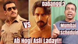 Salman Khan To Faceoff Kiccha Sudeep In Dabangg 3 Mumbai Schedule