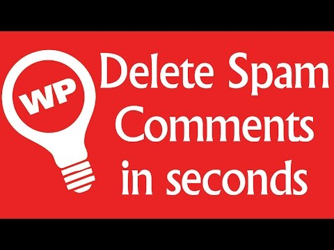 Delete All Spam Comments In Wordpress At Once