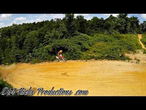 TRAVIS DUNN JUMPS 200FT HUCKER HILL @ DUNN'S PLAYGROUND MX