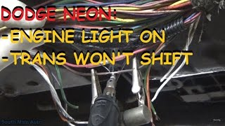 Dodge Neon : Engine Light On / Limp In Mode