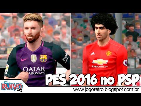 Pro Evolution Soccer 2016 (PES JOGRESS V1 2016) no PSP / Playstation Portable