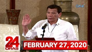 24 Oras Express: February 27, 2020 [HD]