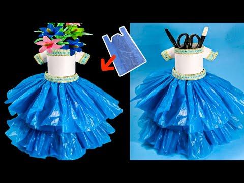 Cara Membuat Baju Dari Plastik Bekas | Baju Dari Limbah Plastik | Baju Daur Ulang Subscribe....