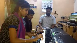 Ayyammal Music Academy And Recording Studio Thiruthangal My Studant Kiruthiga And Lakshmy