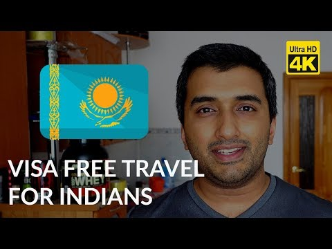 Indian citizens can visit Kazakhstan without a visa
