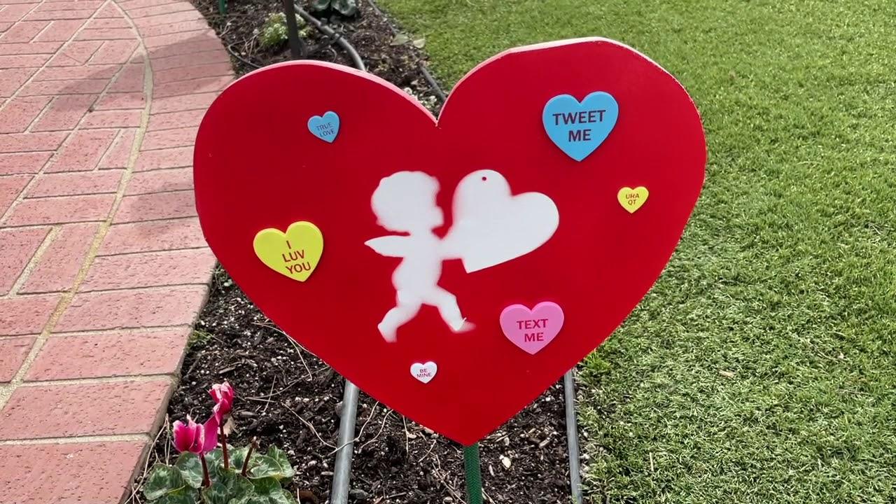 Valentines in the Garden