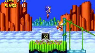 TAS Genesis Sonic the Hedgehog 2 in 17:40.08 by Zurggriff & Aglar  - CamHack