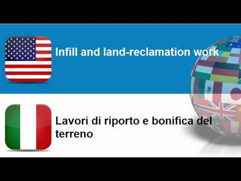 Learn Italian = Topic = Construction work