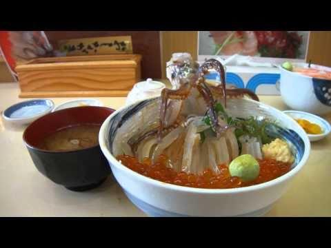 Dancing Squid Bowl Dish In Hakodate