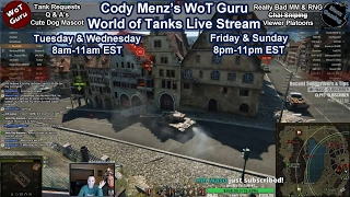 World of Tanks [WoT Guru] Live Stream [213 Tanks] [English] [9,380 Personal Rating] [NA East]