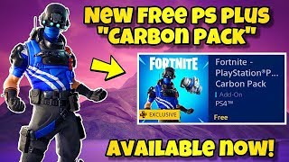 "NEW FREE PS PLUS ""CELEBRATION PACK 5"" AVAILABLE NOW! Fortnite Battle Royale (NEW PlayStation Pack 5)"