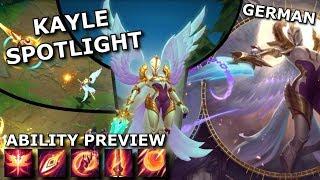 Kayle Rework ABILITY SPOTLIGHT | League of Legends new/rework Champion Spotlight German