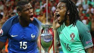 Paul Pogba vs Renato Sanches EURO 2016 HD