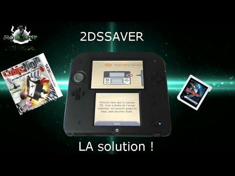 2Dsaver écran étiré par Modchip France