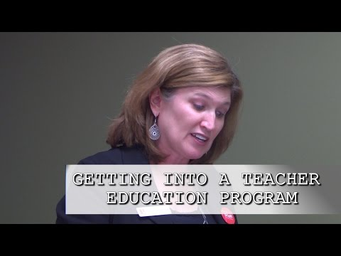 GPSE 2015: Getting into a Teacher Education Program
