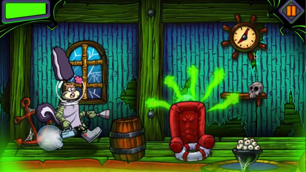 Губка боб охотники за привидениями игра бизнес план ателье по ремонту и пошиву одежды готовый
