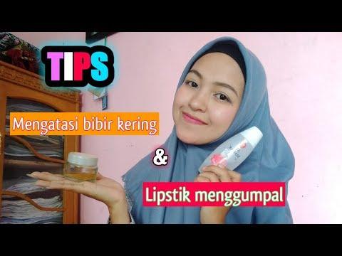 tips-mengatasi-bibir-kering-&-lipstik-menggumpal