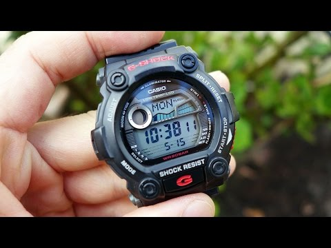 Casio G-Shock G-7900 Multifunction Water Sports Watch Review - Perth WAtch #51