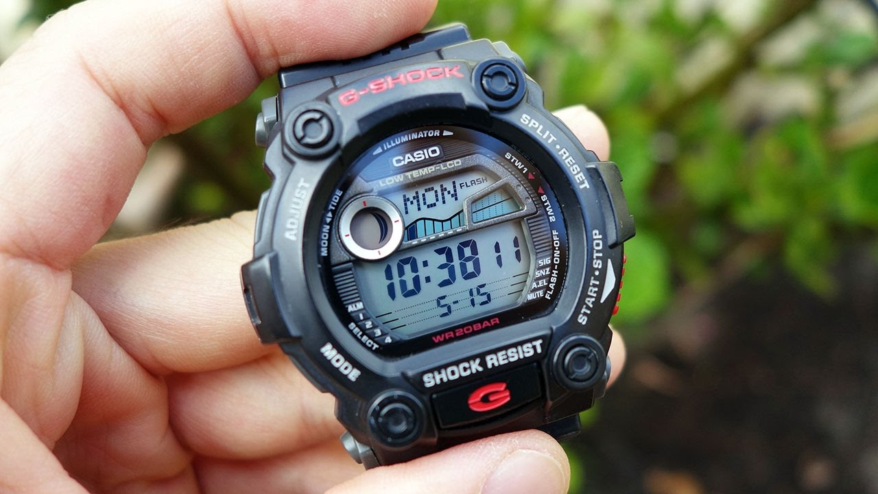 58a099ad6fc Casio G-Shock G-7900 Multifunction Water Sports Watch Review - Perth ...