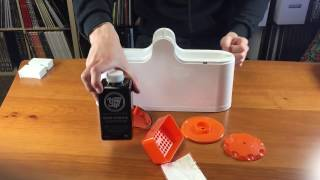 Vinyl Styl™ Deep Groove Record Washer System Unboxing and Usage