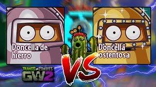 Doncella de Hierro vs Doncella Ostentosa(Nueva) HD | Plantas vs Zombies  GW2