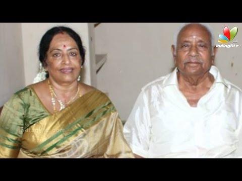 Veteran Actress K.R. Vijaya's Husband Passes Away | Hot Tamil Cinema News