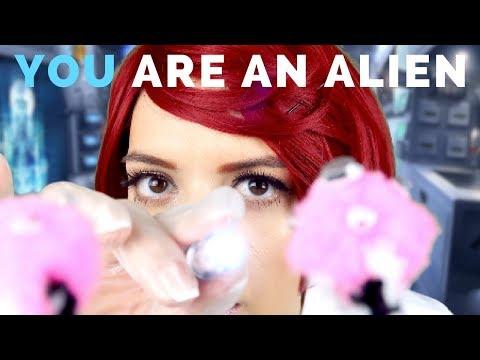ASMR | Sci-Fi Eye Exam. YOU are an Alien! (ft. Dr. Stella)