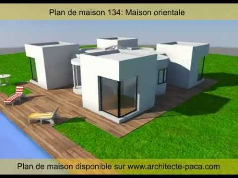 maison orientale 3d architecte youtube. Black Bedroom Furniture Sets. Home Design Ideas