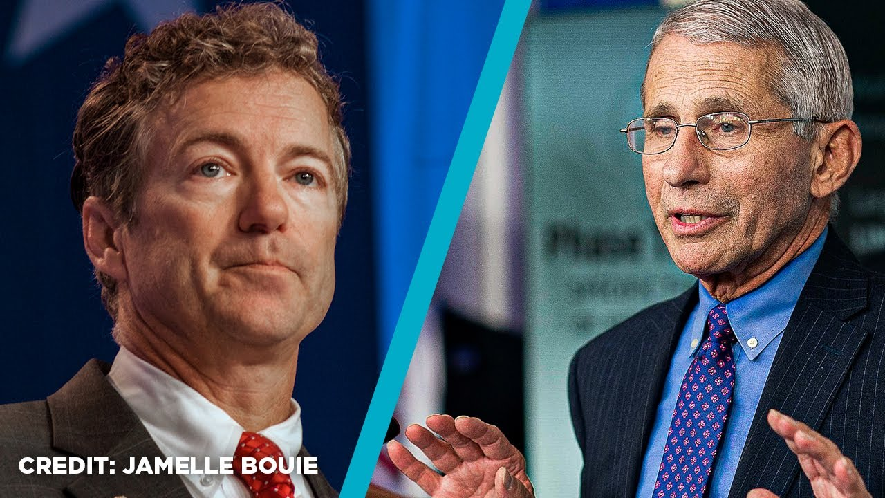 Rand Paul Confronts Fauci Over Masks