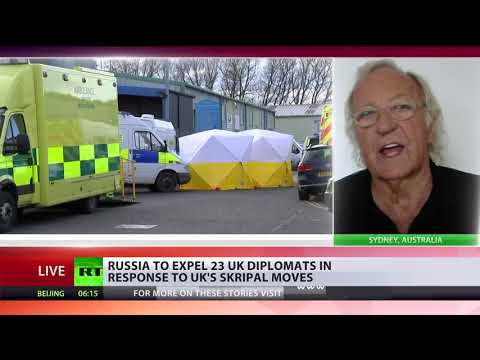 'Skripal case is a carefully-constructed drama' - John Pilger