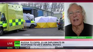 \'Skripal case is a carefully-constructed drama\' - John Pilger