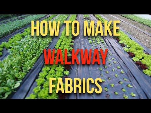 HOW TO: Make Walkway fabrics
