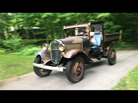 Tearing It Up In A 1931 Ford Model AA!