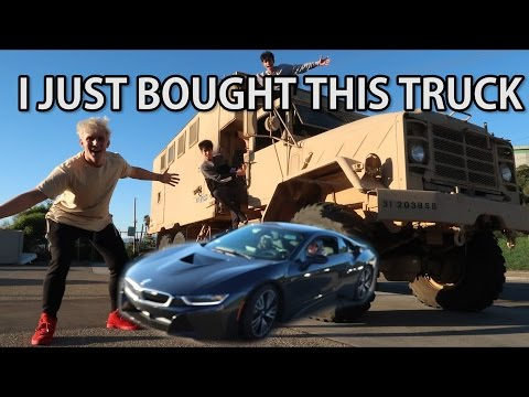 Thumbnail: RUNNING OVER A BRAND NEW BMW i8