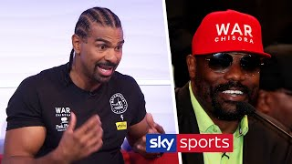 EXCLUSIVE! David Haye reveals he rang Eddie Hearn today to push Chisora for a potential Joshua fight