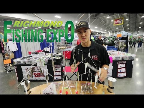 Richmond Fishing Expo! Found My New A-Rigs, Awesome Vendors, And People