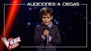Daniel García - El patio | Blind Auditions | The Voice Kids Antena 3 2019