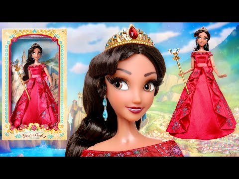 Princess Elena Of Avalor 17' Limited Edition doll REVIEW and Unboxing