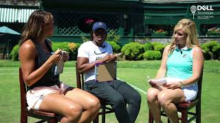 Madison Keys & Sloane Stephens Test Their Friendship at ITHF