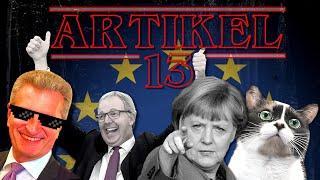 EHRLICHE EU WERBUNG: ARTIKEL 13 - GEF*CKT!!11! LOL!!1!