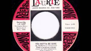 "The Casualeers ""You Better Be Sure"" NORTHERN SOUL"