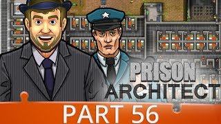 Prison Architect Season 4 - Ep 56 - Nearly Ended Me - Gameplay (1440p)