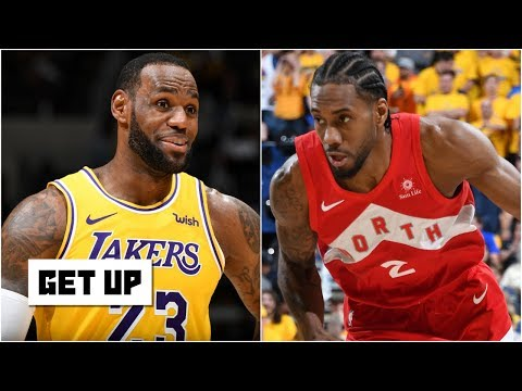 If Kawhi joins the Lakers: Over/Under 1.5 NBA Championships   Get Up