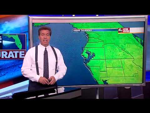 Florida's Most Accurate Forecast with Denis Phillips on Wednesday, March 21, 2018