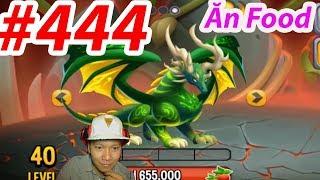✔️ Cho YGGDRASIL ăn thức ăn vs Khủng Long Bạo Chúa Mới Nhất HIGH FERRAL DRAGON New 444